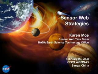 Sensor Web Strategies