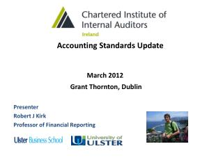 Accounting Standards Update                      March 2012
