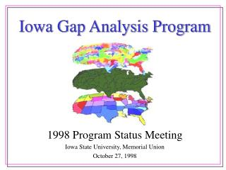 Iowa Gap Analysis Program