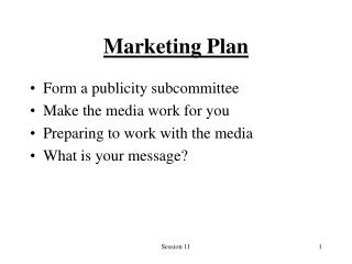 Marketing Plan