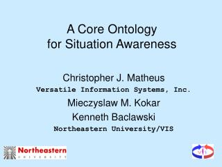 A Core Ontology for Situation Awareness