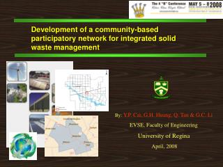Development of a community-based participatory network for integrated solid waste management