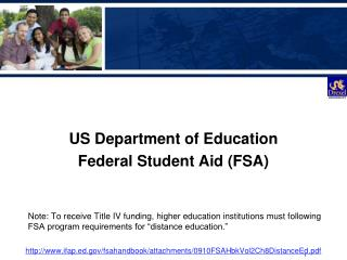 US Department of Education Federal Student Aid (FSA)