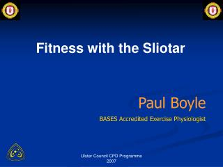 Paul Boyle BASES Accredited Exercise Physiologist