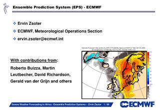Ensemble Prediction System (EPS) - ECMWF