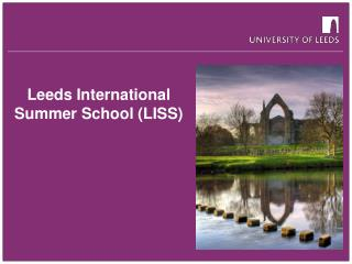 Leeds International Summer School (LISS)