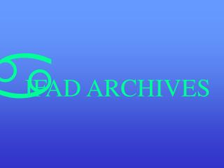 IFAD ARCHIVES