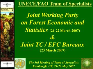 UNECE/FAO Team of Specialists