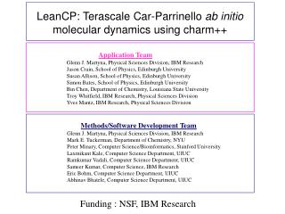 LeanCP: Terascale Car-Parrinello  ab initio  molecular dynamics using charm++