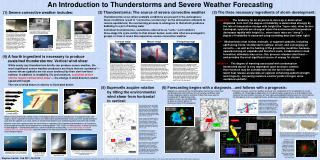 An Introduction to Thunderstorms and Severe Weather Forecasting