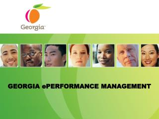 GEORGIA ePERFORMANCE MANAGEMENT