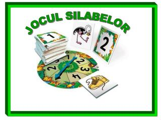 JOCUL SILABELOR