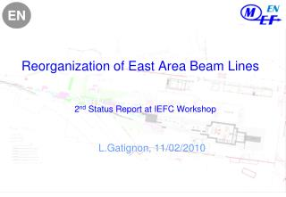 Reorganization of East Area Beam Lines 2 nd  Status Report at IEFC Workshop