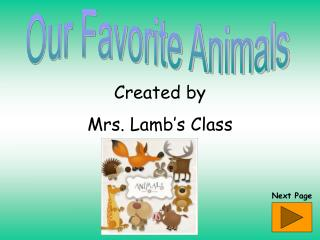 Created by Mrs. Lamb's Class