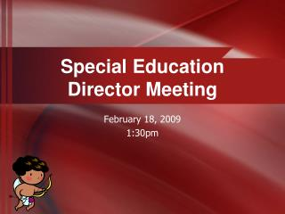 Special Education  Director Meeting