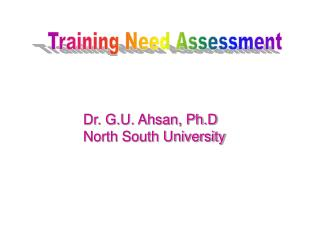 Training Need Assessment