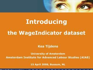 Introducing the WageIndicator dataset