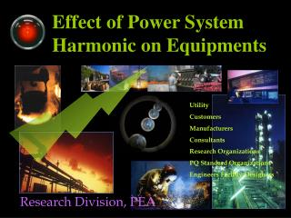 Effect of Power System Harmonic on Equipments