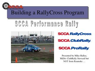 Building a RallyCross Program