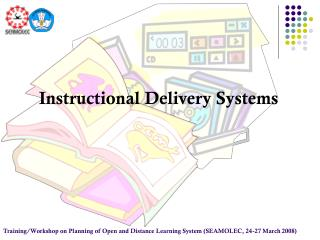 Instructional Delivery Systems