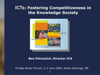 ICTs : Fostering Competitiveness in the Knowledge Society
