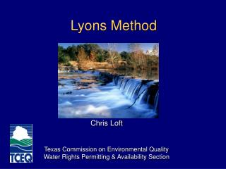 Lyons Method