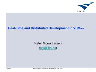 Real-Time and Distributed Development in VDM++