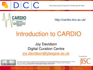 Introduction to CARDIO