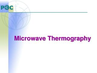 Microwave Thermography