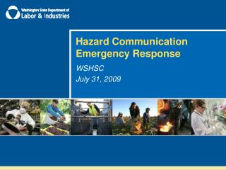 Hazard Communication Emergency Response