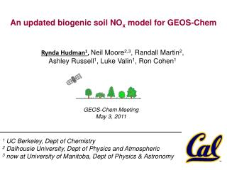 An updated biogenic soil NO x  model for GEOS-Chem