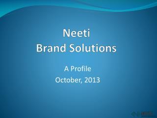 Neeti Brand Solutions