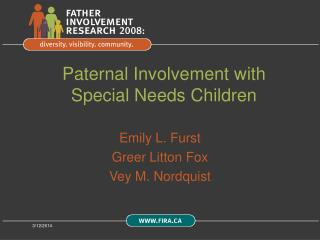 Paternal Involvement with Special Needs Children