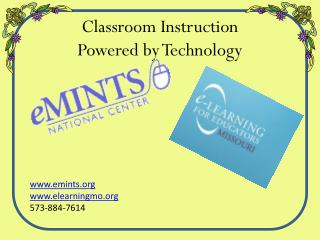 Classroom Instruction Powered by Technology