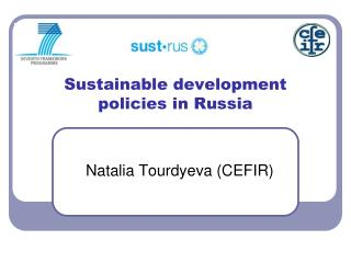 Sustainable development policies in Russia