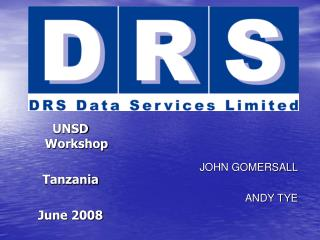 UNSD Workshop Tanzania June 2008