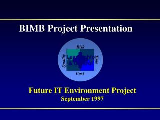 Future IT Environment Project September 1997