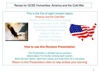 Revise for GCSE Humanities: America and the Cold War