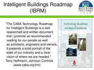 Intelligent Buildings Roadmap (IBRM)