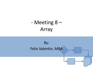 - Meeting 8 – Array
