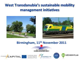 West Transdanubia's sustainable mobility management initiatives
