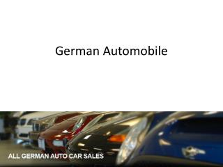 German Automobile