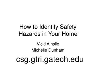How to Identify Safety Hazards in Your Home