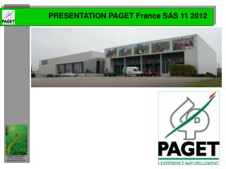 PRESENTATION PAGET France SAS 11 2012