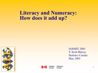Literacy and Numeracy: How does it add up?
