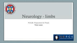 Peripheral Vascular Exam : OSCE Finals