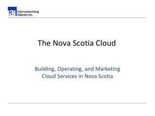 The Nova Scotia Cloud