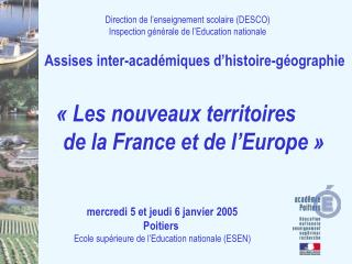 Direction de l'enseignement scolaire (DESCO) Inspection générale de l'Education nationale