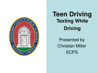 Teen Driving Texting While Driving
