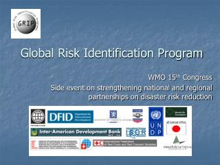 Global Risk Identification Program